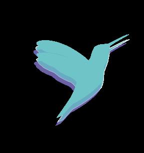 Logo Colibri Freelife4you Texto mini